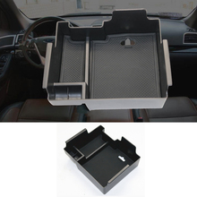 Armrest Storage Box For Ford Explorer 2011-2017 2018 Center Console Bin Glove Tray Holder Case 2012 2013 2014 2015 2016 стоимость