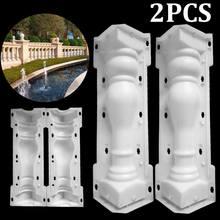 60x14cm Roman Column Mold Balcony Garden Pool Fence Cement R