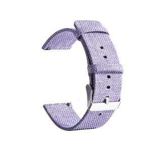Image 4 - 20MM Universal Nylon Canvas Replacement Watch Band Wrist Straps Suitable Smart Watch Brand New And High Quality Comfortable