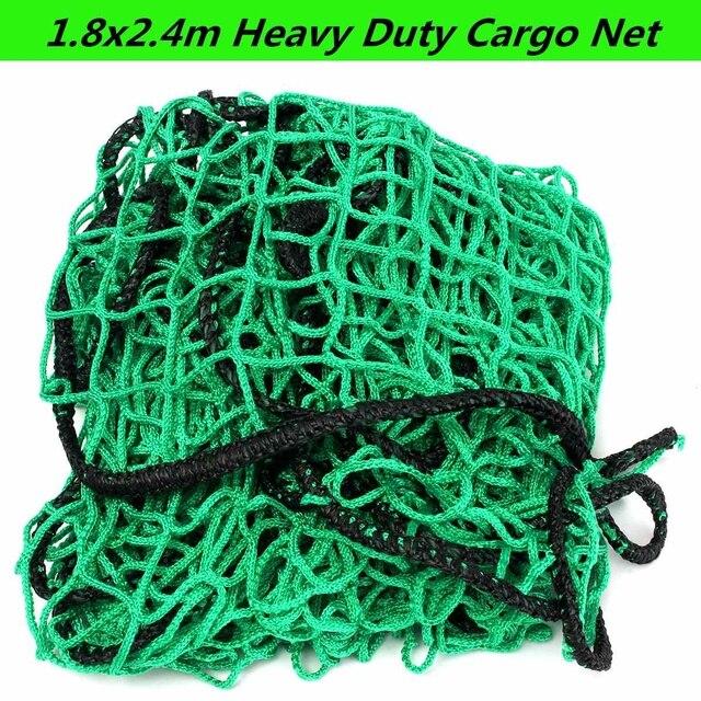 1.8x2.4m Truck Mesh Cargo Net Strong Heavy Cargo Net Pickup Boats Truck Trailer Dumpster Extend Mesh Covers Roof Luggage Net