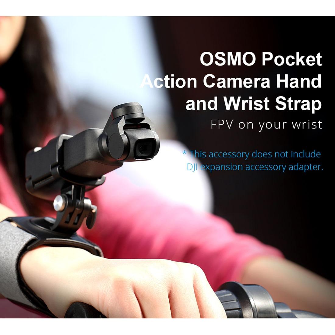 PGYTECH pour OSMO ACTION 360 Rotation poignet ceinture dragonne bande fixe pour DJI OSMO poche pour Gopro série Action Camera RC
