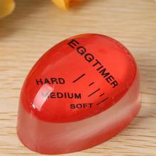 Portable Reusable 1Pc Egg Perfect Color Changing Timer Control Soft Hard Boiled Eggs Cooking Kitchen Resin Egg Timer Home Tools