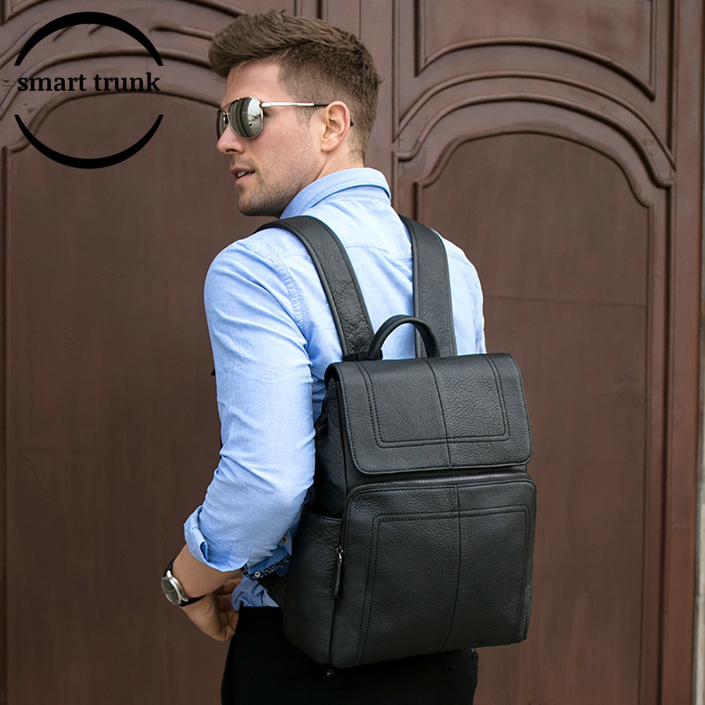 2019 New Style Genuine Leather Fashion Backpack Men Backpack School Bag Large Capacity Pack Laptop Business Travel Bag2019 New Style Genuine Leather Fashion Backpack Men Backpack School Bag Large Capacity Pack Laptop Business Travel Bag