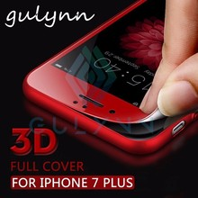 GULYNN 3D Soft Edge Tempered Glass on the For iPhone X XR XS MAX Screen Protector Film 8 7 6 6S Plus Protective