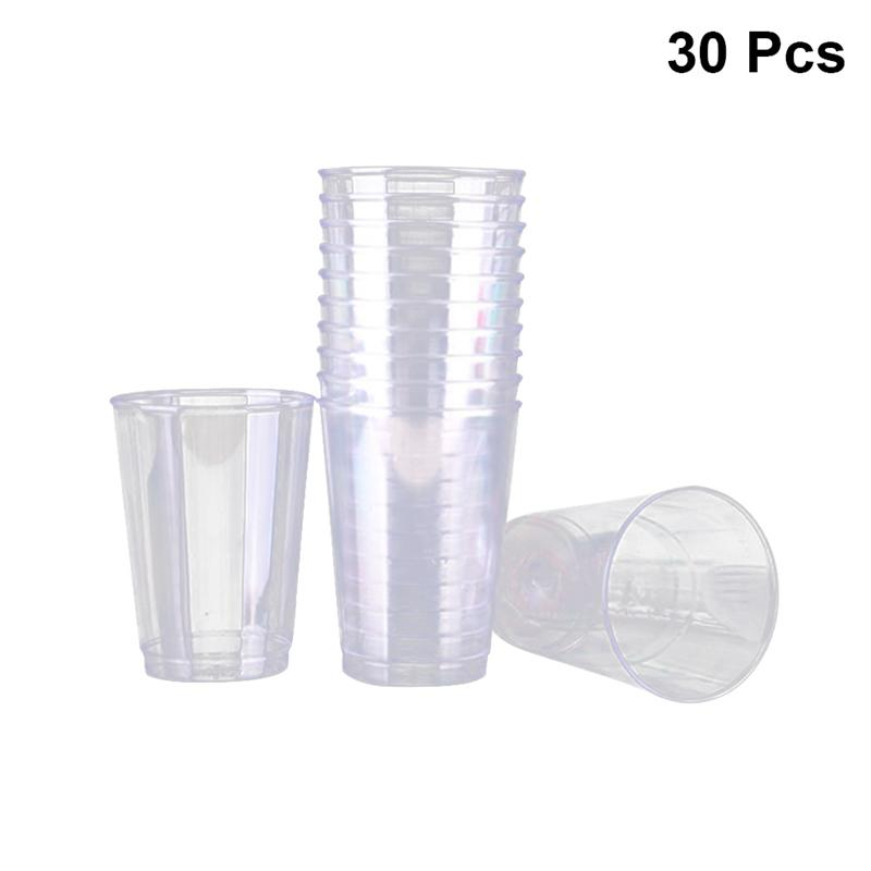 Portion-Containers Disposable Plastic For Bar Cafe-Shop Restaurant 30pcs Food-Grade