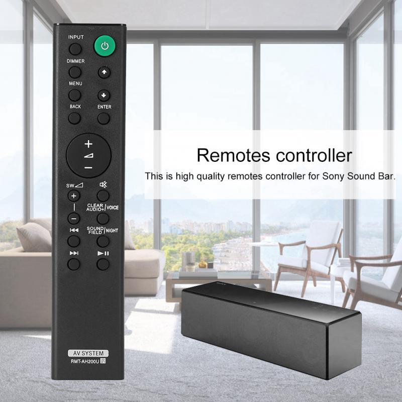 Replacement Remote Control Controller for Sony Sound Bar HT-CT770 HTCT770 HT-CT370 HTCT370