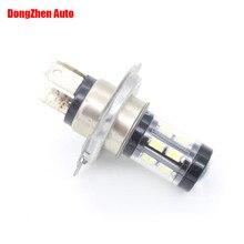 Dongzhen 1X автомобилей головной H4 светодиодный лампы 15 5730 Canbus без ошибок Авто Мото внешний свет DRL Габаритные огни