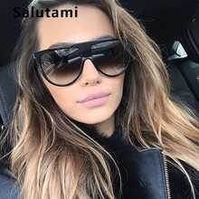 Kim Kardashian Sunglasses Women Luxury Brand Designer Retro