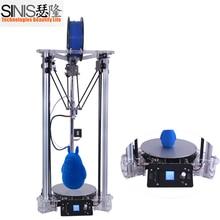 Desktop Home Industry 1.75mm ABS PLA Filament Kossel 3D Printing Machine Metal Delta FDM 3D Printer DIY Kit with Laser Engraver