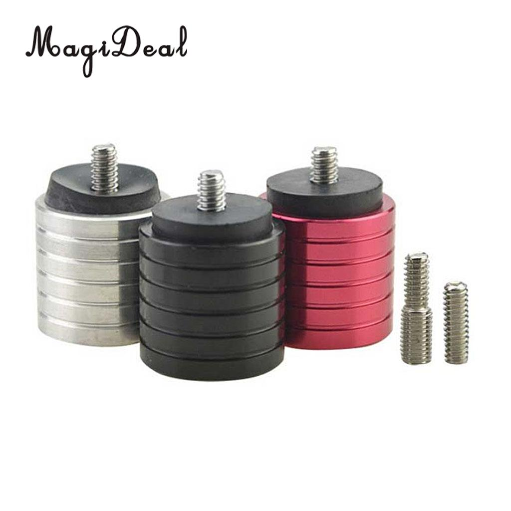 Magideal Archery Counterweight Kit Bow Stabilizer Weights Balance Bar Weight Lustrous Bow & Arrow