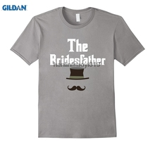 GILDAN Mens Funny The Bridesfather T-Shirt  Father of Bride Gift Tee