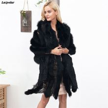 faux fur cape Lace splice scarf sexy ladies imitation mink Fox Fur Collar Poncho Cape Bridal wedding dress shawl