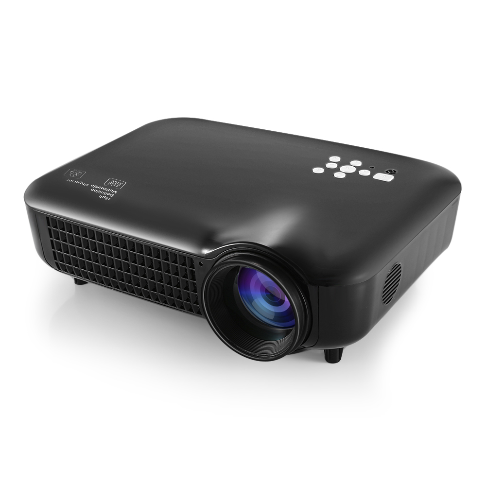 VS627 Multimedia LCD Projector 1280 x 800 Pixels 3000 Lumens Full HD 1080P Home Cinema Theater Projectors with HDMI VGA USB Port