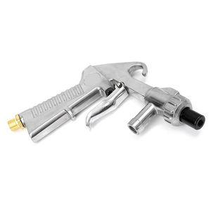 Image 5 - HLZS pistola de chorro de arena de aire, boquillas, conector y tubo, herramienta de desoxidación
