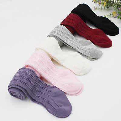 New Casual Lovely  Baby Girls Socks Kids Baby Toddler Infant Kids Girls Cotton Warm Pantyhose Long Socks