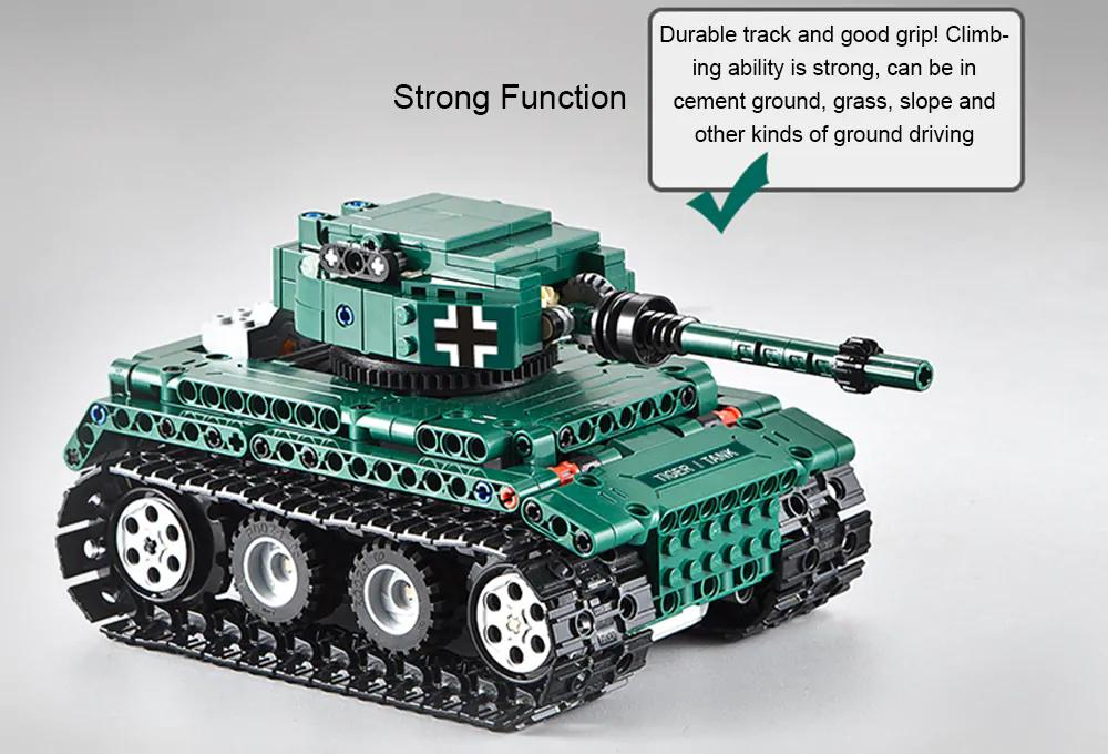 LeadingStar RC Tank Battle Tank Model Kids Radio Remote Control Crawler Tanks Toy Assemble Puzzle BlocksLeadingStar RC Tank Battle Tank Model Kids Radio Remote Control Crawler Tanks Toy Assemble Puzzle Blocks