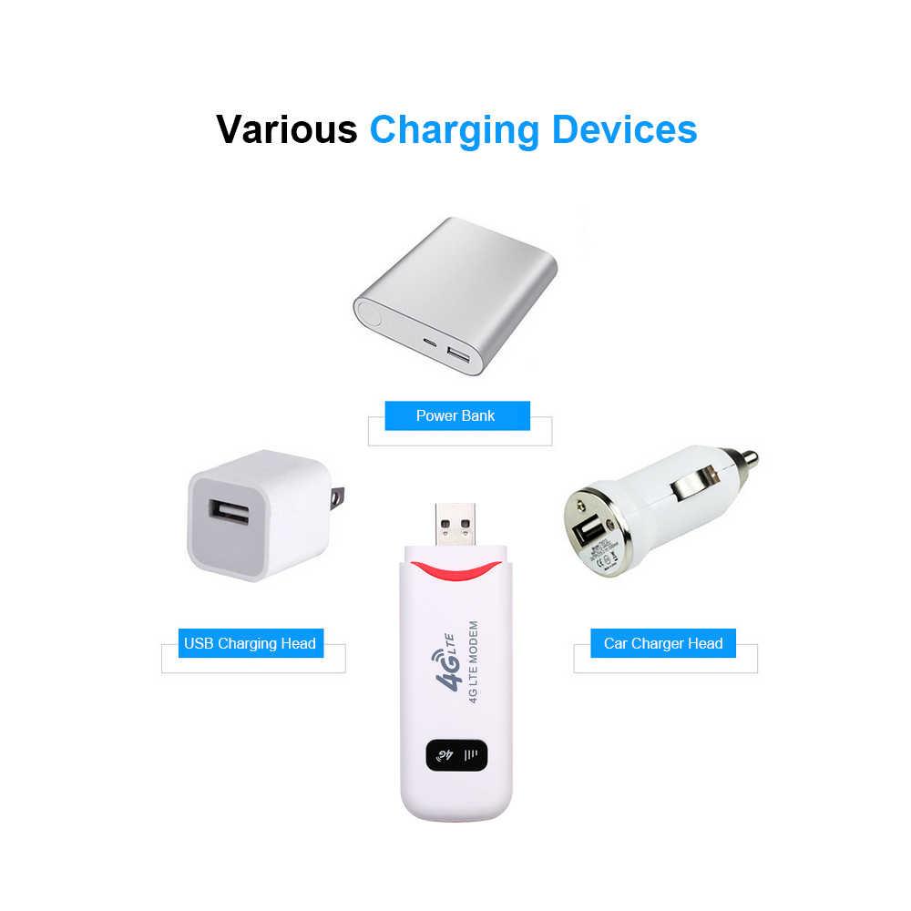 4G مودم USB Mini 100Mbps موزع إنترنت واي فاي عصا تاريخ بطاقة موبايل هوت سبوت لاسلكي واسع النطاق مفتوح المحمولة دونغل سيارة واي فاي