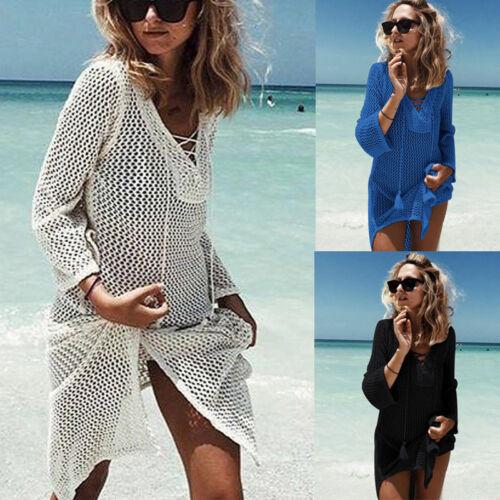 New Fashion Hirigin Womens Sexy Beachwear Summer Swimwear Bikini Beach Wear Cover Up Kaftan Ladies Dress Excellent In Cushion Effect
