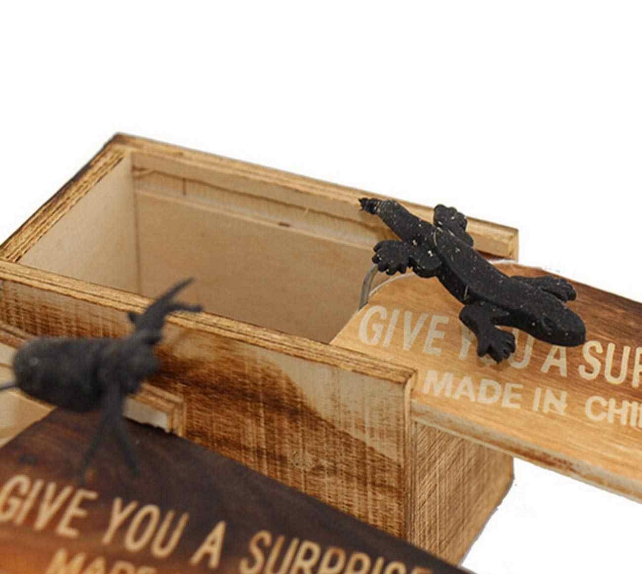 Caixa de Brinquedos Do Bebê Engraçado Tricky Gritar Surpresa Pudcoco Animais Caixa De Madeira O Melhor Presente Para As Crianças Do Bebê 2019 New Hot Dropshipping estilo