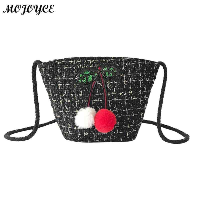 d14237bba441 Detail Feedback Questions about Female Woolen Sling Shoulder Bag Cute Small  Girls Phone Bag for Women Purse Casual Female Crossbody Bags Messenger Bag  2018 ...