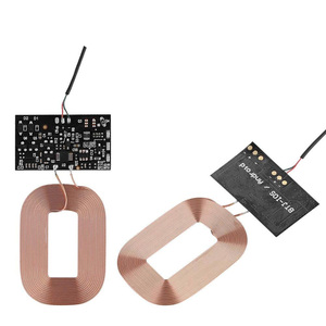 Image 4 - DIY Qi Standard Wireless Charging Coil Receiver Module PCB Circuit Board, 5V 1A Qi Fast Wireless Charging Module DIY Wireless