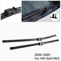 Car Wiper Rain Remover Specific Wipers For Volkswagen Golf Mk4 / Mk5 / Mk6 2002 2012 Models Auto Modify Original Accessory