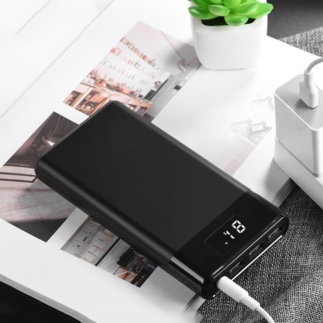 Batterie externe portative de téléphone Portable de Powerbank de 30000 mAh trois Ports d'usb LED batterie externe d'affichage pour l'iphone X de Xiaomi