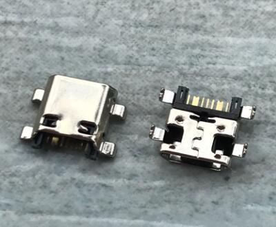 500 unids/lote conector usb para Samsung Galaxy gran primer G530 I8260 I8162 S6812 S7582 G350 G313 G5310