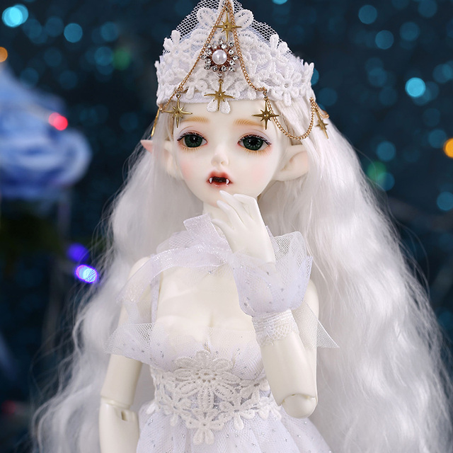Free Shipping Hwayu Vampire Minifee Doll BJD 1/4  Thick Lips  Pretty Toy For Girls Sent GIFT #1 Hands