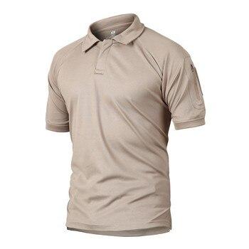 Летняя Тактическая Военная камуфляжная футболка для походов и кемпинга, Мужская быстросохнущая футболка Coolmax, армейские спортивные футболки