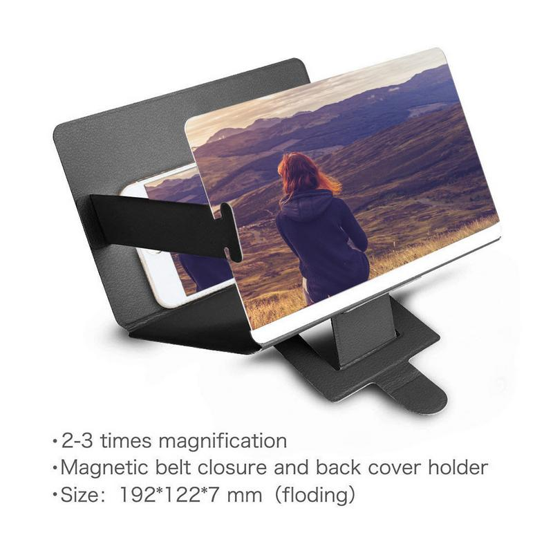 32b821cd3d22a7 Phone Screen Magnifier Cellphone Projector Enlarged Amplifier Bracket  Holder 3D HD Movie Video Stand for Smart Phone-in Projector Accessories  from Consumer ...