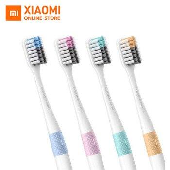 Oryginalne szczoteczki do zębów Xiaomi Doctor B Mi Home 4 kolory w 1 zestawie głębokie czyszczenie w zestawie miękkie włosie do inteligentnego domu