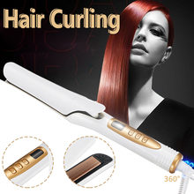 Hair Curling Iron Tong Styler Wet and Dry Ceramic Hair Curle
