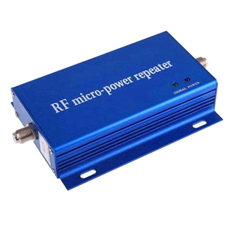 AMS chaud-petite taille Gsm Cdma 850 Mhz répéteur de Signal de téléphone portable amplificateur Booster Kit aérien répéteur de Signal de téléphone portable (Plu Us