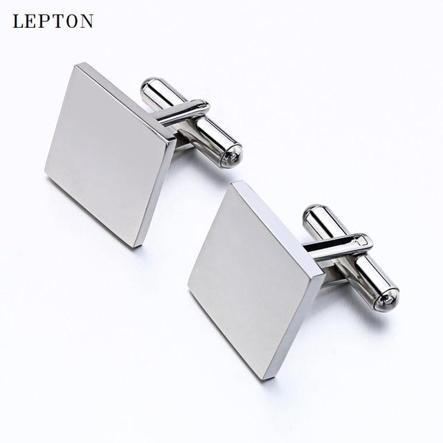 Купить горячая распродажа запонки из нержавеющей стали для мужчин лептон
