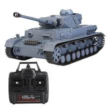 Heng Long 3859-1 tank 2.4GHz 1/16 Scale PANZER-IV F2 High simulated Model RC Tank anti-impact durable toy for children gifts(China)