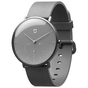 Image 3 - Механические кварцевые часы Xiaomi Mijia, BT, IP67 водонепроницаемые оригинальные смарт часы с шагомером, умными напоминаниями для Android, iOS