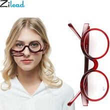 Zilead, вращающийся увеличительный макияж, очки для чтения, для женщин, складные, раскладушка, косметические, пресбиопические очки для пожилых, унисекс