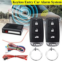 KROAK Universal 1-Way Car Alarm Vehicle System Protection Se
