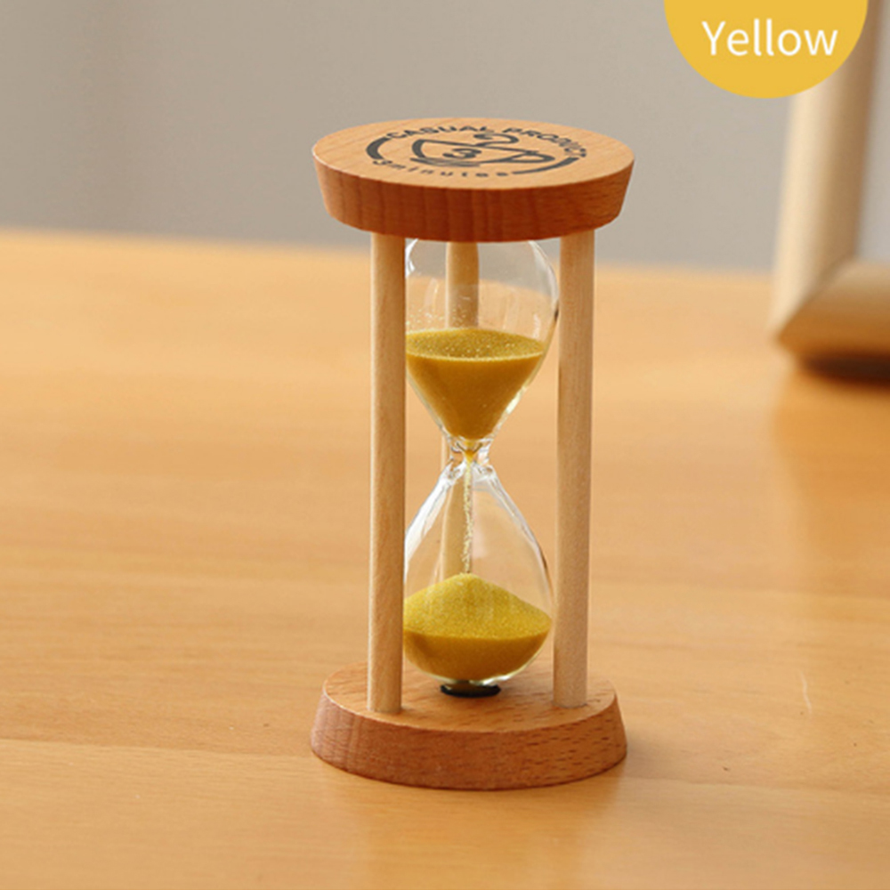 Mini 3 Hour Hourglass with Suction Cup for Shower and Brush Timer Cooking and Baking Home Office Decoration Creative Time Management Tool for Games Wall Hourglass