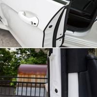 SPEEDWOW Universal Car Door Edge Sealing Guard Trim Scratch Protector Strip Car Door Stickers Decoration Car Accessories 10M