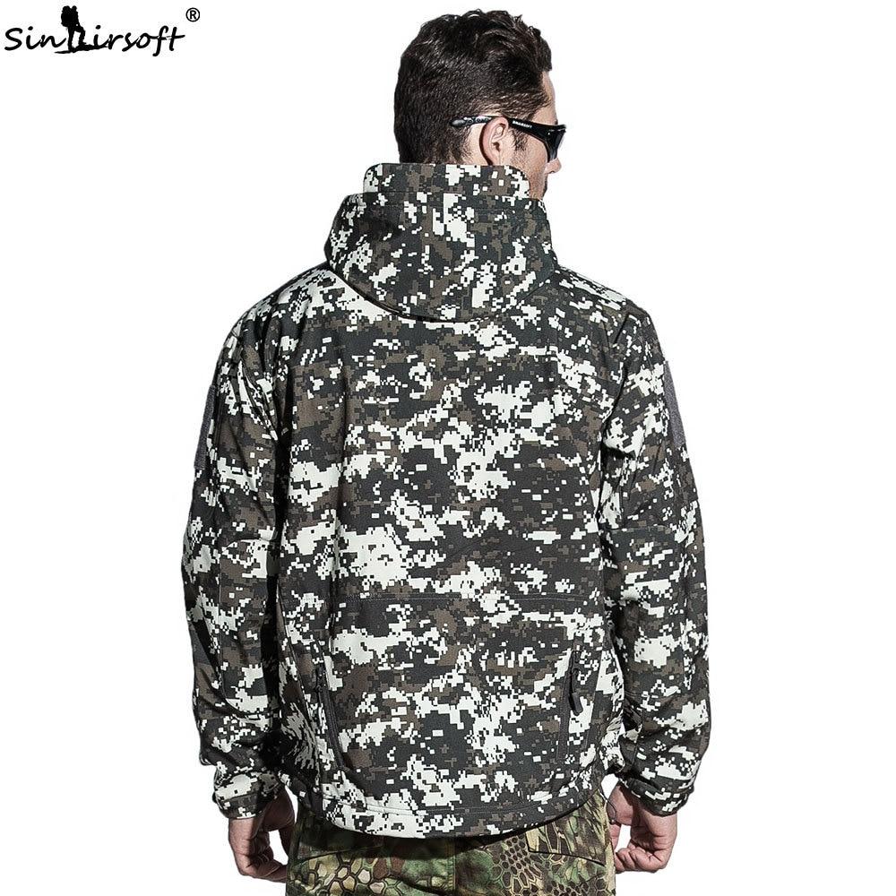 купить!  2018 Куртка Военная Армия Тактическое Мужское Пальто Lurker Акула Кожа Мягкий Shell Ветрозащитный Ох