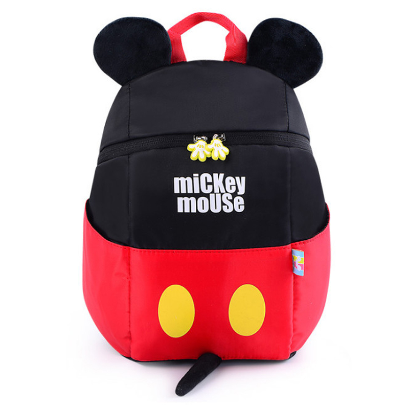 583350b0dac Disney 2019 New Mickey Mouse Backpack Kids Girls Boy School Bag Cute Children  Backpacks Polyester Kindergarten Cartoon Bags-in Plush Backpacks from Toys  ...