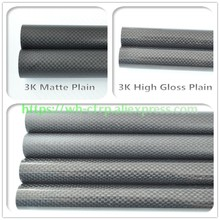 OD 6mm X ID 5mm 4mm Length 500mm Carbon Fiber Tube (Roll Wrapped)Model tubes, with 100% full carbon 6*4 | 6*5