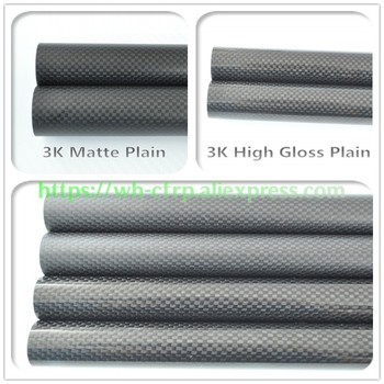 OD 7mm X ID 5mm X 6mm X Length 500mm Carbon Fiber Tube (Roll Wrapped)Model Carbon tubes, with 100% full carbon 7*5 | 7*6 цена 2017