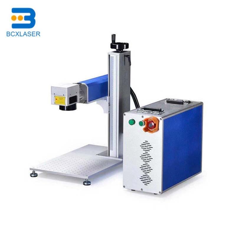 Split Fiber Laser Marking Machine With Computer Remote Control
