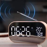 Bluetooth Speaker Wireless Mini Phone Alarm Clock Home Small Sound Computer Car Subwoofer Decoration