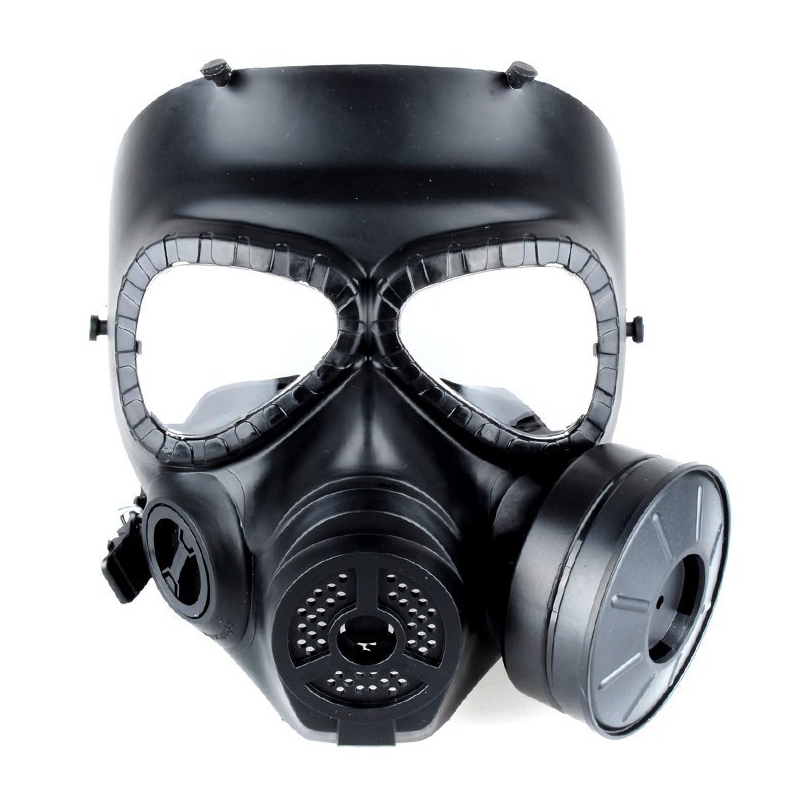 2019 gran oferta tácticas de caza máscaras de gas cs pistolas de aire máscaras protectoras