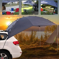 Portable Shelter Truck Car Tent Trailer Awning Rooftop Campers Outdoor Canopy Sunshade