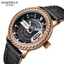 b17824cf85c EYKI Relógio Dos Esportes Da Forma Dos Homens Relógios Top Marca de Luxo  Data relógios de Pulso de Quartzo dos homens À Prova D .